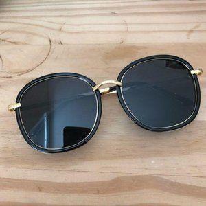 Handmade sunglasses in black